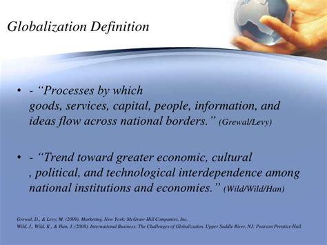 challenges of globalization in international business globalization presentation