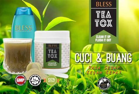 Bless Detox detox dengan teatox blessmania diary