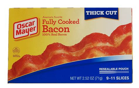 Cooked Bacon Shelf by Groceries Express Product Infomation For Oscar Mayer