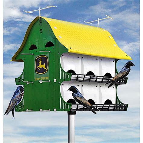 john deere house john deere 174 birdfeeder 156190 bird houses feeders at sportsman s guide