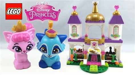 lego disney princess palace pets royal castle set review 41142