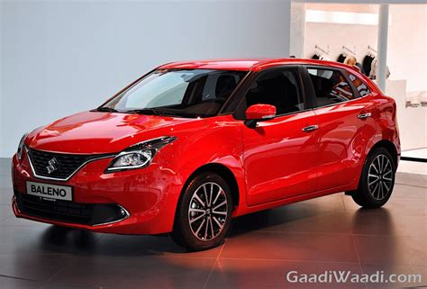 Maruti Suzuki India Cars Maruti Suzuki Baleno Specification And Variants Details