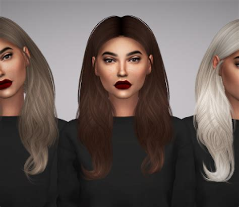 custom conten hair the sims 4 female hair custom content downloads