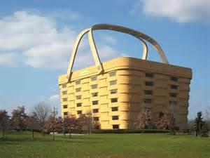 longaberger basket building longaberger employees leaving iconic basket building in