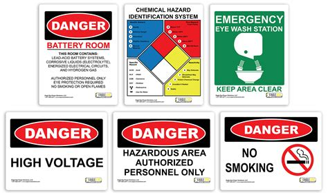 room signs for battery room compliance battery room signs signage