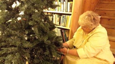 christmas tree preparation tree preparation