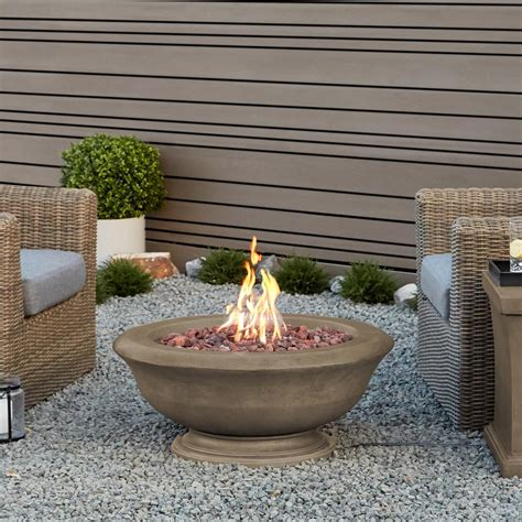 Backyard Bowls Ventura Real Ventura 36 In Fiber Concret Square Chat Height