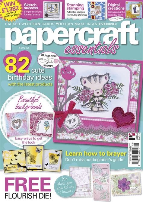 Papercraft Essentials Magazine - pin by papercraft magazines on papercraft magazines covers