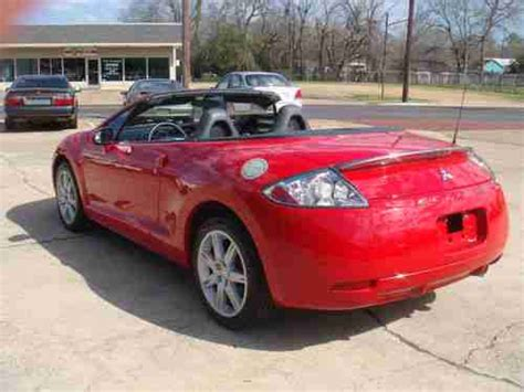 mitsubishi convertible 2007 purchase used 2007 mitsubishi eclipse spyder gt
