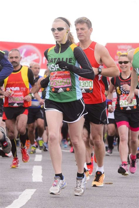 natalie dormer marathon natalie dormer running the money marathon 12