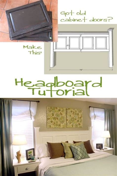 Cabinet Door Headboard by Best 20 Cabinet Doors Ideas On