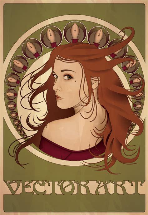 design poster illustrator tutorials create an art nouveau poster in illustrator