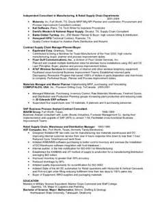 Process Improvement Consultant Sle Resume by Rasor Resume 2012