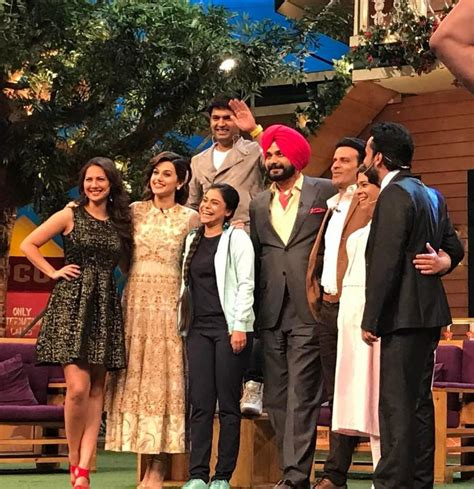 taapsee pannu in kapil sharma show taapsee pannu and manoj bajpayee laugh out loud on the