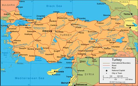 turkey on the map of europe turkey map and satellite image