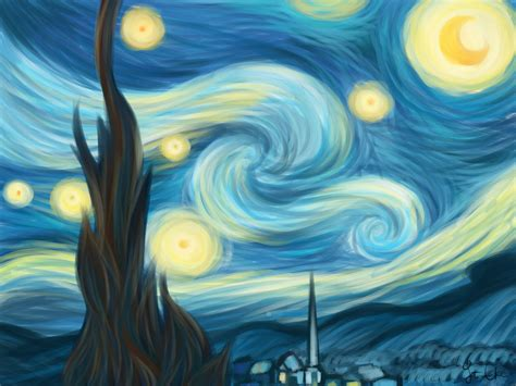 picasso paintings starry gogh starry original painting