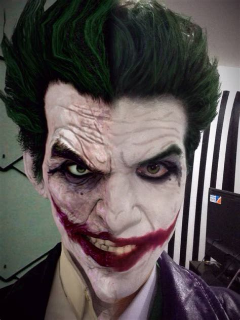 imagenes del joker de arkham arkham origins joker cosplay preview comparison by