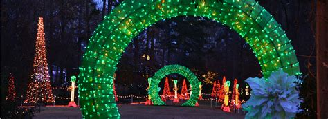 holiday lights at garvan gardens catherine s landing