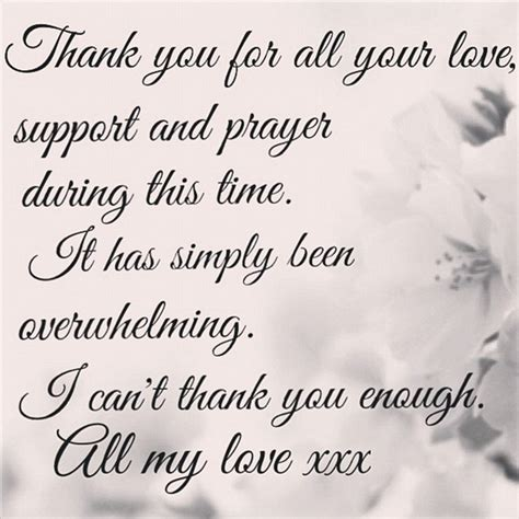 thank you letter to husband for support it has been overwhelming former home and away