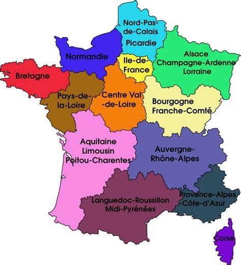 les francaises point sur les nouvelles r 233 gions fran 231 aises france