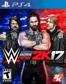 Wwe smackdown vs raw 2k17 cover by lastbreathgfx on
