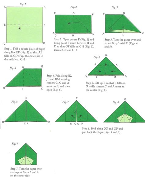How To Make Paper Tent - origami tent abraham leaving ur tree