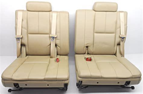 suburban 3rd row seat stuck upright oem chevrolet tahoe yukon suburban third row seat lh and