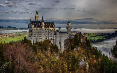 windows 7 desktop themes germany germany neuschwanstein castle wallpaper 10 landscape