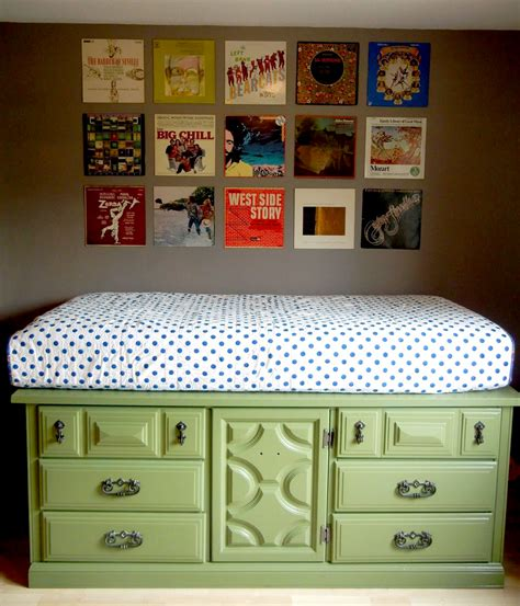 Repainted Kitchen Cabinets 8 diy storage beds to add extra space and organization to