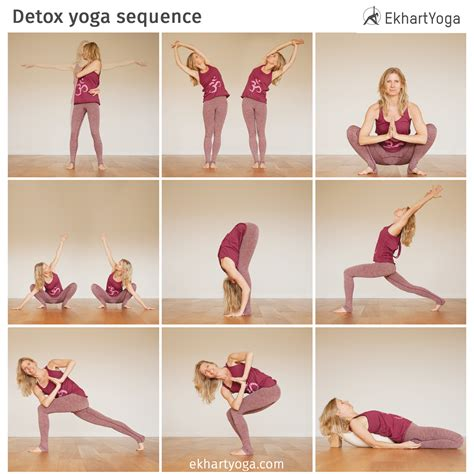 Detox Pose Sequence by Detox Sequence Ekhart