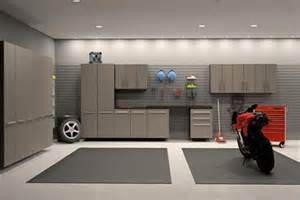 Garage Interior Design Pictures Modern Interior Garage With Storage Cabinet Design