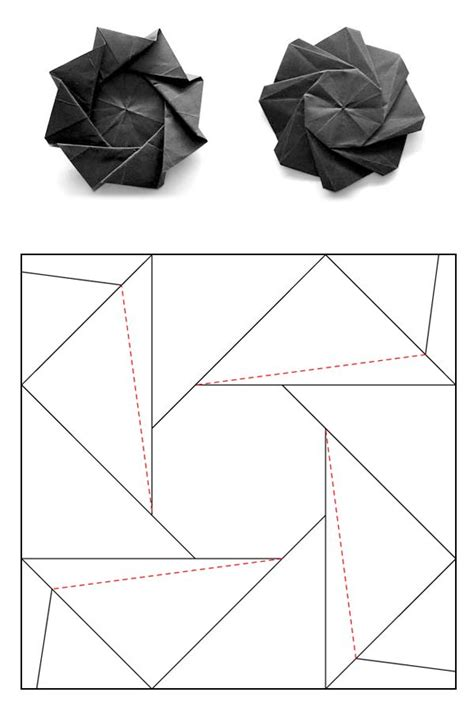 Geometric Origami Patterns - 219 best images about smart paper on origami
