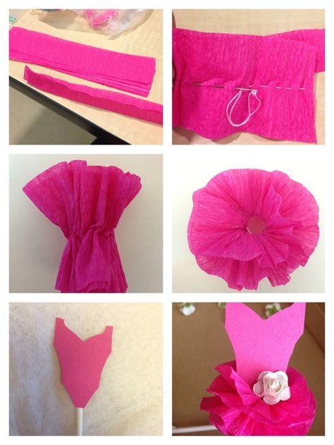 pin the tutu on the ballerina template cupcake tutu topper crepe paper tutu tutorial tutu