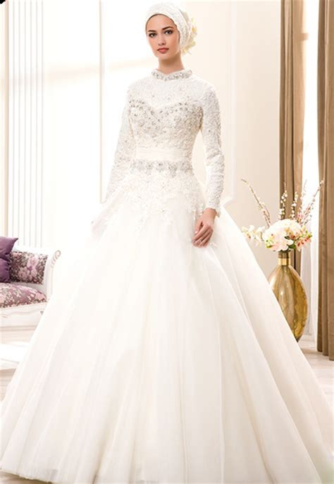 wedding muslim modern bridal gowns bridal gowns