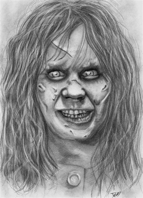 the exorcist drawings and search on pinterest