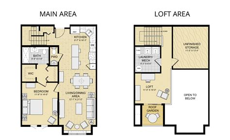 Small Apartment Floor Plan Ideas by Marvellous One Bedroom Loft House Plans Ideas Ideas Studio