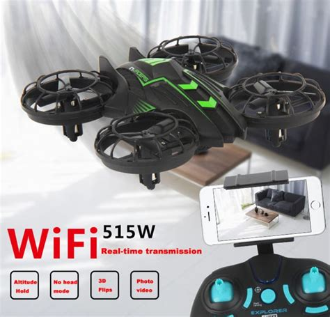 Jxd 515w Quadcopter Drone Wifi Dengan 0 3mp Murah jxd 515w quadcopter drone wifi dengan kamera 0 3mp black green jakartanotebook