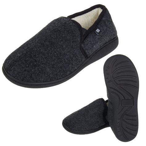 indoor outdoor slippers for geoffrey beene men s slippers warm memory foam insole