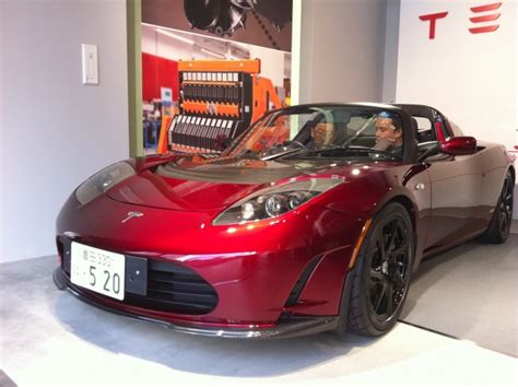 Rav4 Ev Tesla Tesla Thanks Toyota Ceo With A 2011 Roadster Sport 2 5