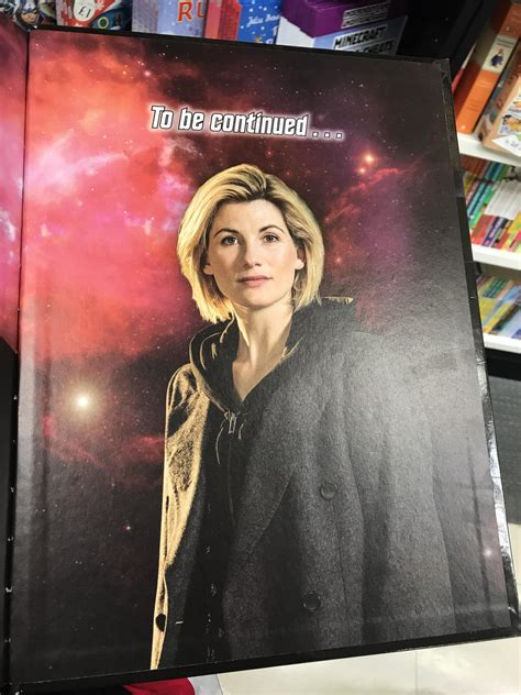 doctor who official annual 2018 books i the last page of the doctor who 2018