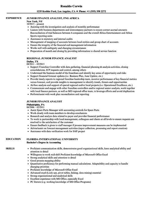 junior business analyst resume writing sample regarding template for