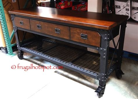 Costco: Whalen Industrial Metal & Wood Workbench $299.99   Frugal Hotspot