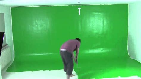 paint color for green screen painting a green screen in 60 seconds