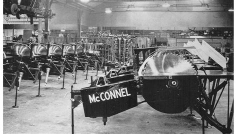 mcconnell saw bench mcconnel limited company history