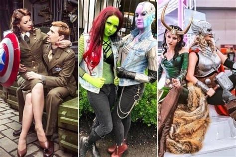 marvelous matching avengers costumes  couples