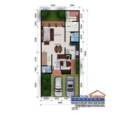desain rumah  lantai  lahan     rm   lt desain rumah