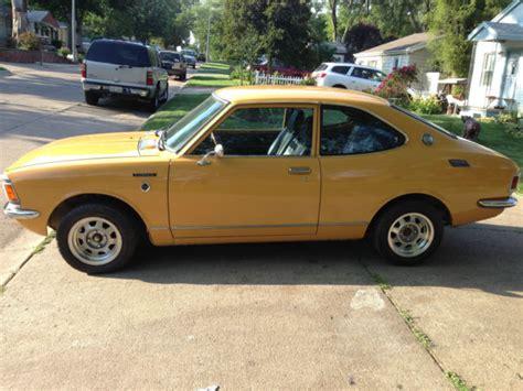 1972 Toyota Corolla For Sale Toyota Corolla Coupe 1972 Yellow For Sale Te27 1972