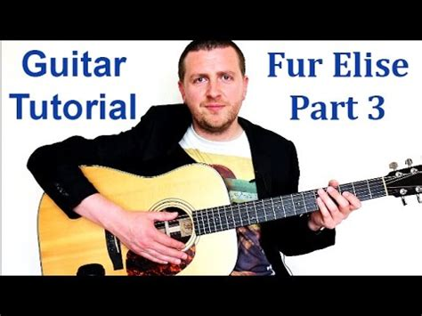 youtube tutorial fur elise fur elise guitar tutorial beethoven a slow and easy