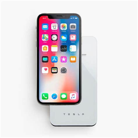 tesla propose un chargeur sans fil sur batterie pour iphone x