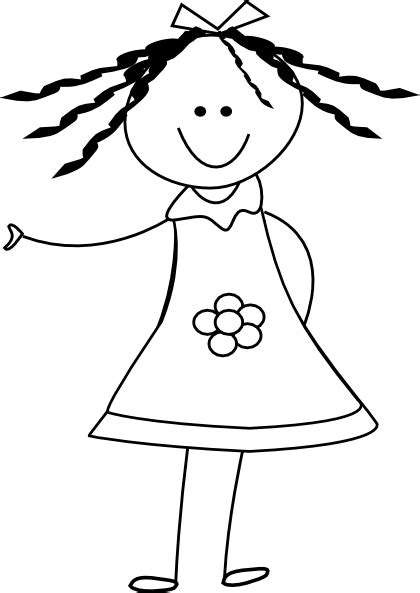 black doll and white doll doll clipart black and white clipart panda free